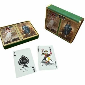 Vintage Duratone Plastic Coated Playing Cards